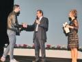 Giorgio Beltrami premia un autore